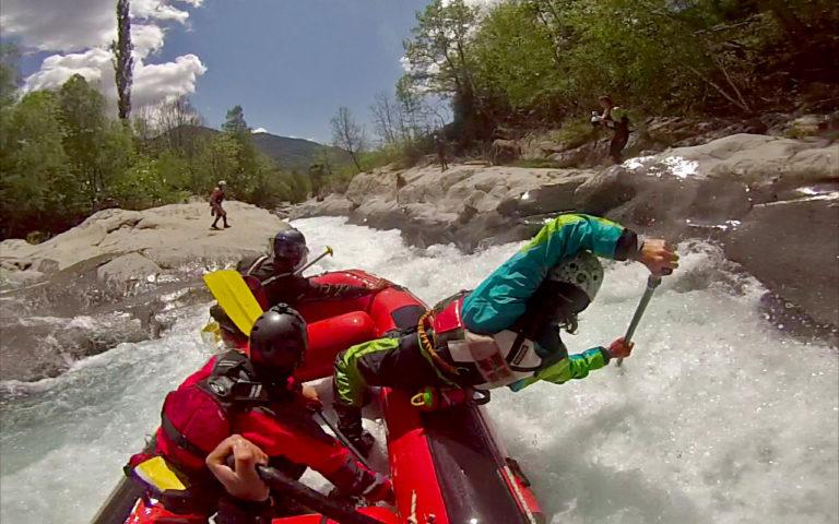 Curso Entrenamiento Guía Rafting